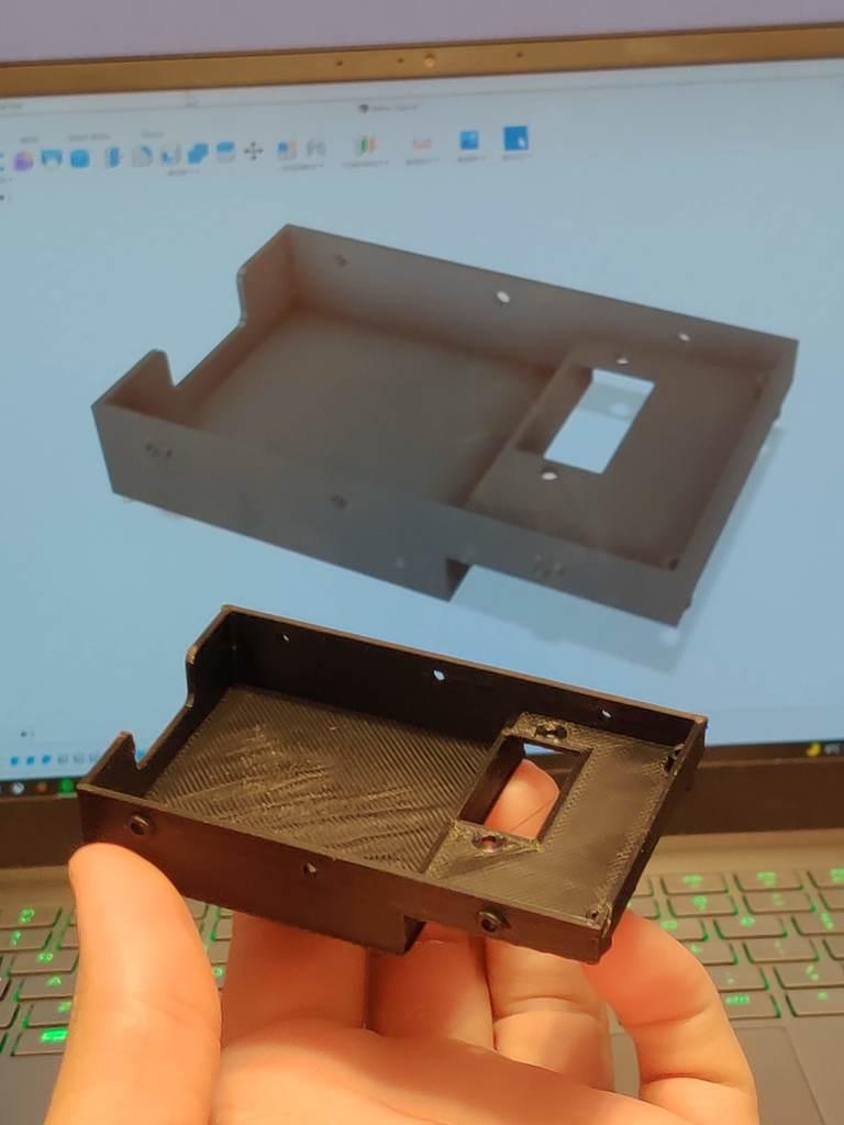 WPL c14/c24 tray w/ vertical servo holder