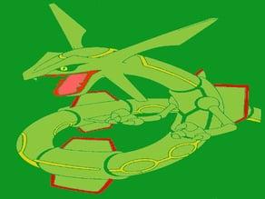 Rayquaza stencil