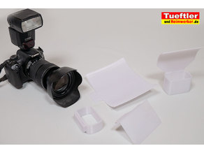 Reflector and Diffuser for Canon Speedlight 430 EX II