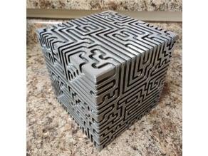 Cube Maze (No Dead Ends)