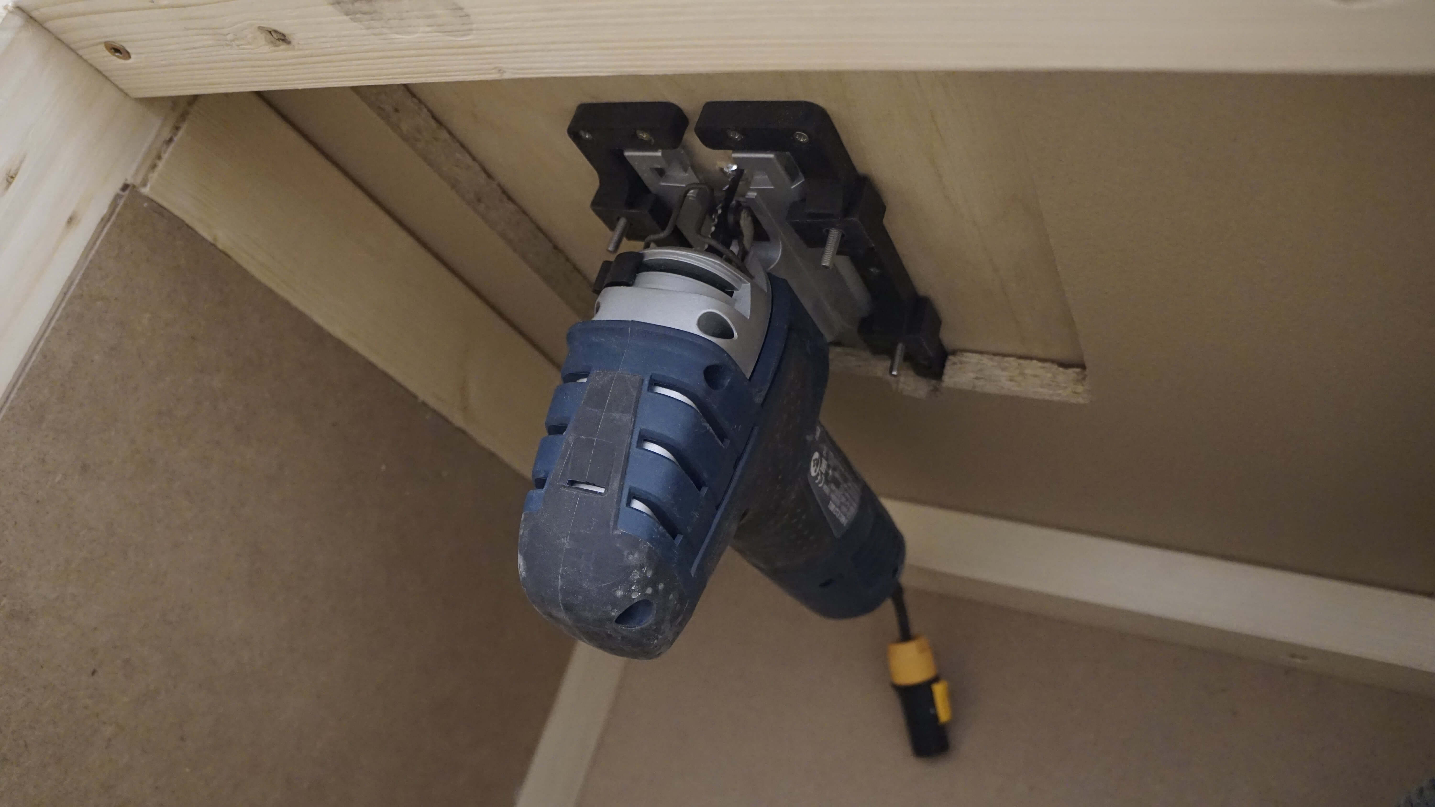 Jig Saw Table Mount Adapters for the Bosch GST 150 CE