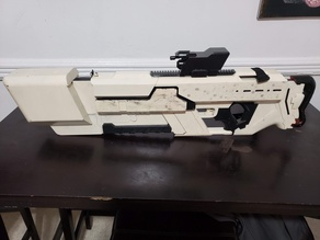 Khan Rifle Concept from Marvels The Exiles