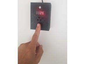 Coronavirus doorbell with Arduino