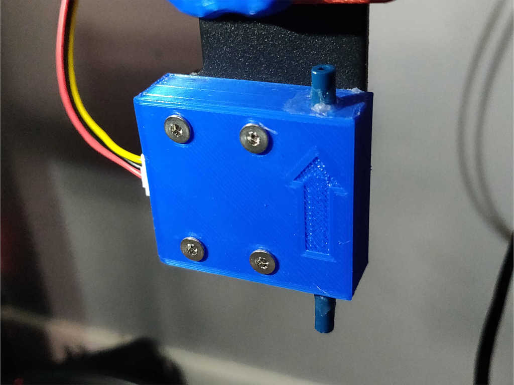PTFE Lined Filament Sensor Housing for Ender 5-Plus / Other CREALITY Machines