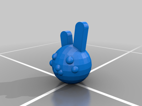 (Piggy) Bunny head (1 Pack)