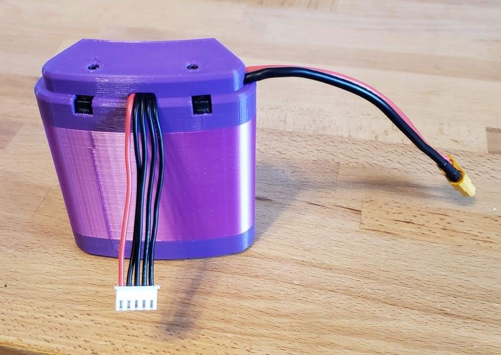 4s 18650 Battery Flat Pack for pocket or belt