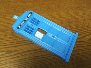 Dr Who Tardis Switch Plate Cover
