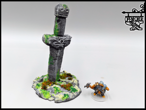 OpenForge - Ancient Sword Statue