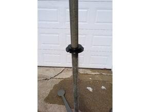 Military Pole Mast Guyline Guide Plate