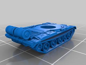 6mm T-62 MBT