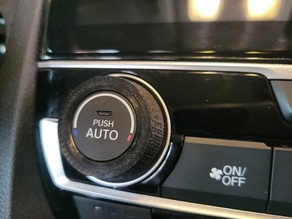 10th generation honda civic climate control knob customization