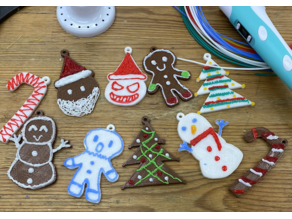 Christmas Cookies with Tinkercad + 3D pen