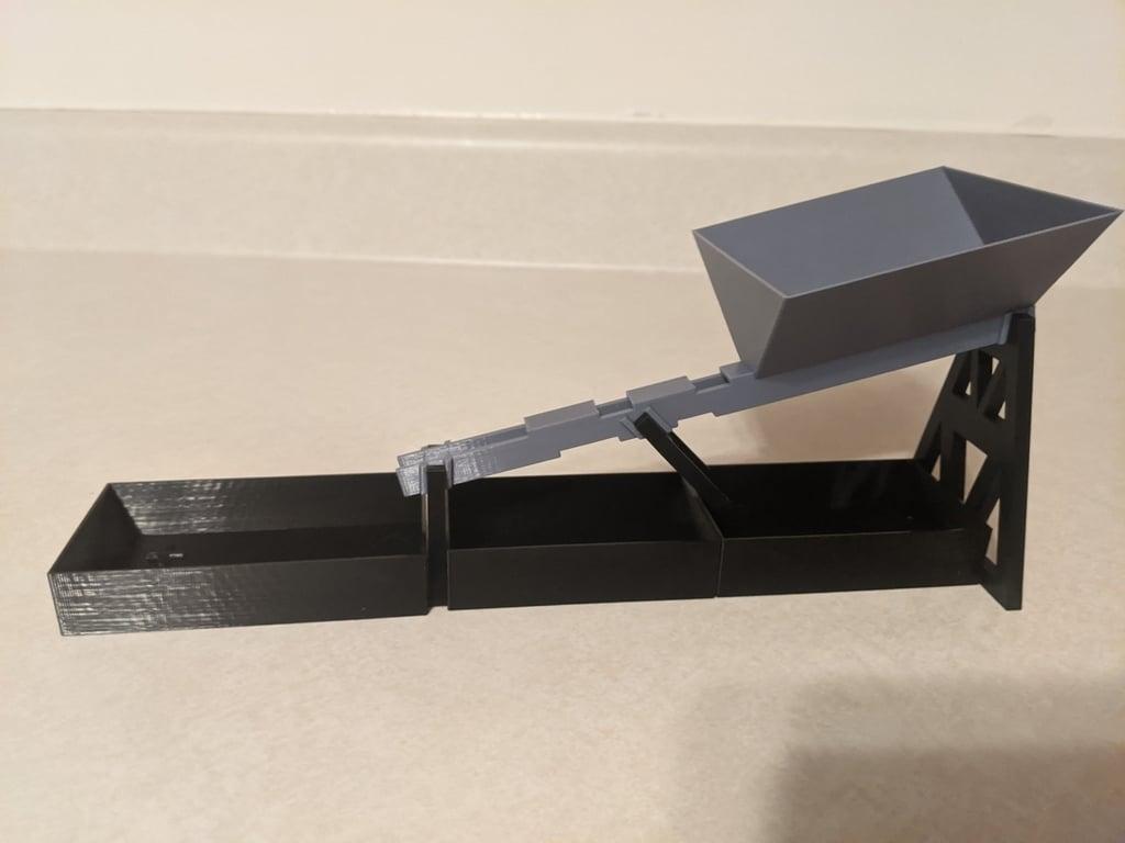 Lego Technic pin and axle sorter