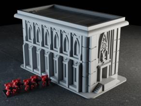 Librarium Building (Epic 40K - 6mm scale)