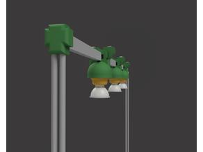 Modular plant lamp