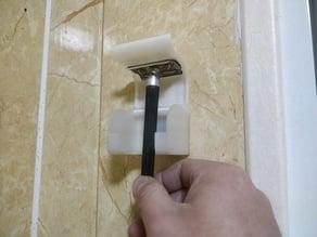 safety razor holder