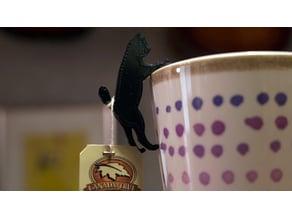 Cat Tea Bag Holder 猫のティーバックホルダー