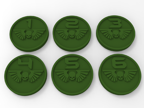 Imperial Guard Objective Markers