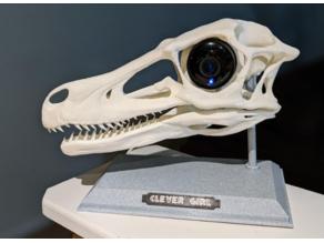 Clever Girl - Raptor Indoor Camera Holder