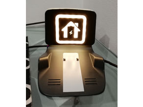 Anki Vector - lighted charger logo