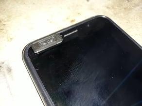 Smartphone privacy front camera cover