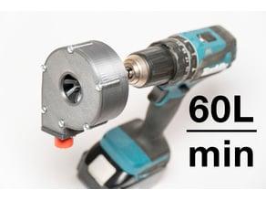 Drill Water Pump 60L/min | Easy to print