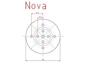 Woodturning Chuck Jaw Plan (Nova, Record Power, Sorby Patriot)