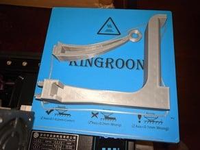 Kingroon Spool Holder & Guide using 20x40 cap