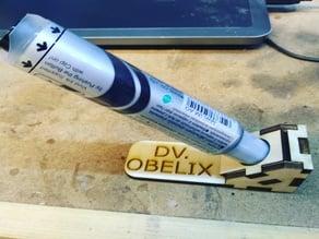 Wood lasered marker holder for dart board