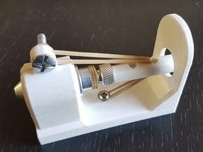 Roland vinyl cutter CNC adapter - drag knife-