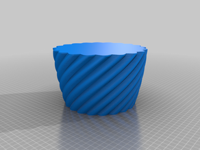 My Customized Rounded Square Vase, Cup, and Bracelet Generator