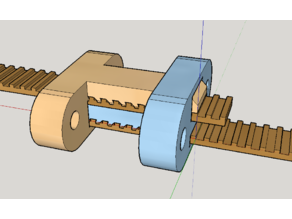 Belt clamps with a built-in tensioner