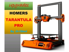 Pack with improvements and updates for the Tevo Tarantula Pro and Homers Tarantula Pro.