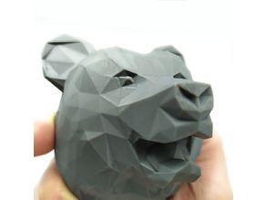 Bear LowPoly / Ours LowPoly