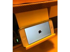 Under Desk Smartphone Shelf
