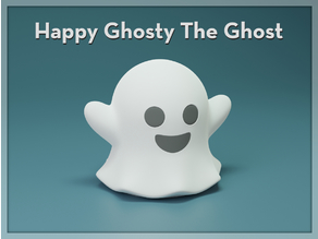 Happy Ghosty The Ghost