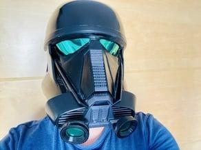 Components for Death trooper helmet AWT