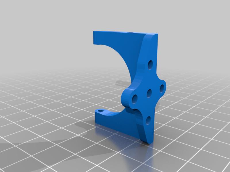 3D Printable RC Spitfire Support motor