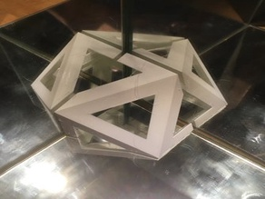 Icosahedron in mirrors