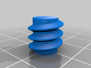 Customizable Polygonal Helix/Thread