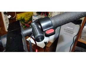 Handlebar button mount