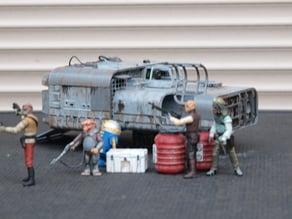 """A4B truckspeeder (Star Wars Solo) 6"""" Scale"""