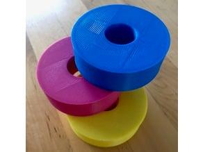 Thread Spool Pattern Weight