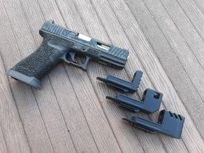 Glock rail compensator