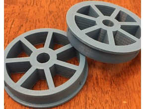 Spool Hub 54mm x 8mm with tapered shims