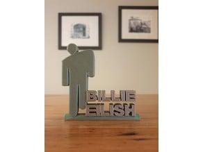 Billie Eilish Ornament