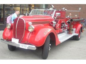 American LaFrance/Ford Fire Truck 1939