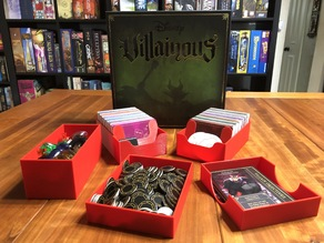 Disney Villainous Board Game Insert
