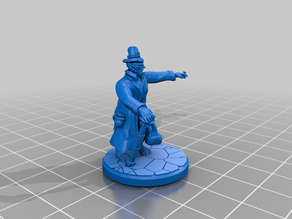 Fancy goblin with top hat and cane