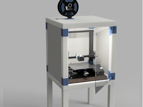 [YAILE] Yet another IKEA Lack enclosure [easy to print]